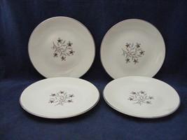 "4 Salem China Whimsey 6"" Bread Dessert Plates International Ironstone - €12,85 EUR"