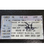 Drowning Pool House of Blues L.A. Comp 2004 ticket stub - $4.99
