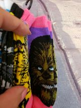 Disney Star Wars Girls No Show Ankle Socks 6 pairs Size M Youth (9- 2.5) image 7