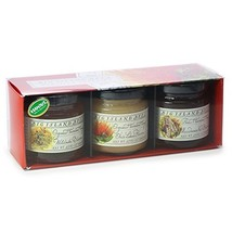 Gourmet Hawaiian Raw Honey Gift Set, Single Floral Variety Sampler by Bi... - $40.23