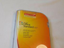 Microsoft Büro Standard 2007 PC Upgrade 021-07668 Geöffnet NOS Neu Word Excel image 3