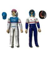 Vtg NASCAR RACING Superstar ACTION FIGURES Richard Petty Derrike Cope HE... - $14.84