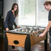 Foosball Table with Internal Ball Return and Ball Entry + Includes 4 Balls - $407.49