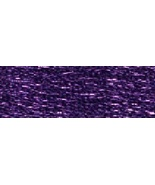 Purple (E3837/5289) DMC Light Effects Metallic Embroidery Floss 8.7 yd s... - $2.10