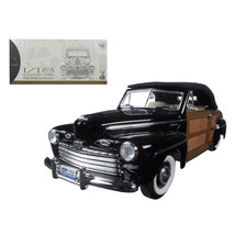 1946 Ford Sportsman Woody Black 1/18 Diecast Model Car by Road Signature 20048bl - $114.93
