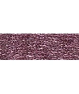 Pink (E316/5288) DMC Light Effects Metallic Embroidery Floss 8.7 yd skei... - $2.10