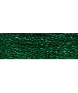 Green (E699/5269) DMC Light Effects Metallic Embroidery Floss 8.7 yd ske... - $2.10