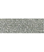 Silver (E168/5283) DMC Light Effects Metallic Embroidery Floss 8.7 yd sk... - $2.10