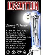 "Led Zeppelin Band ""Stairway To Heaven"" Counter Top Stand-Up Display - Ro... - $15.99"