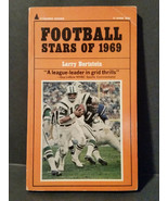 Football Stars Of 1969 by Larry Bortstein paperback Book - $4.70