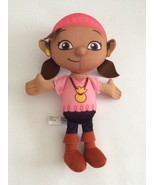 FISHER PRICE DISNEY Jake and Neverland Pirates pink TALKING IZZY DOLL 11... - $6.79