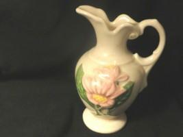 Hull Art Pottery New Magnolia Pink Ewer H3-5 1/2 Mint - $15.99
