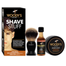 Woody's Shave Stuff Kit