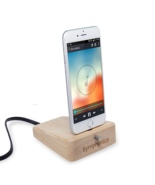 Symphonica Hardwood Charging/Docking Stand for iPhone/Android (Natural F... - $39.99