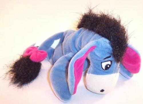 "The Disney Store Eeyore (Winnie the Pooh) 7"" Beanbag Plush Stuffed Animal"