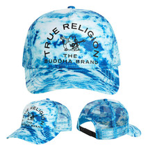 True Religion Men's Buddha Trucker Hat Adjustable Baseball Cap Snapback TR2580T