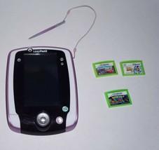LeapFrog LeapPad 2 Explorer with 3 Game Cartridges - $46.74