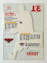 Jason Terry Now/66 #65 Atlanta Hawks Fleer Basketball Card with Hard Case 31G image 7