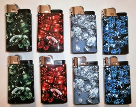 8 DJEEP Gemstones Lighters, up to 4000 lights - $17.72