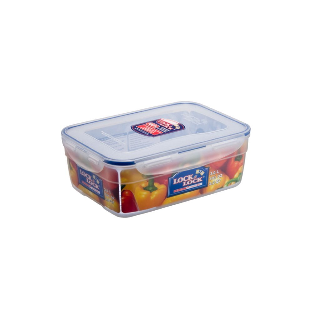 Lock & Lock 101-Ounce BPA Free Rectangular Nestable Style Container with Hook an - $40.58