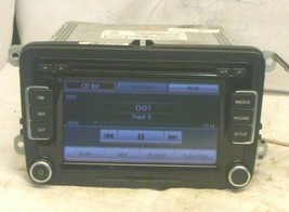 VW Volkswagen RCD-510 Touch Screen Radio 6 Disc Cd MP3 & CODE 1K0035180A... - $222.75