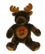Plush Moose I Love Alaska I Heart AK 17 inch Stuffed Animal Impact Merch... - $28.59