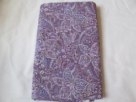 Rich Purples Floral & Paisley Quilting Fabric JoAnn Fabrics 2 Yards - $17.90