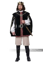 California Costumes Elizabethan King Renaissance Mens Halloween Costume ... - £67.14 GBP