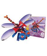 "YOXOBUG ""FLYE"" 3 FOOT DRAGONFLY Building KIT 56 Piece Building Toy NIB - $19.79"