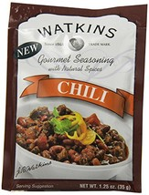 Watkins Gourmet Seasoning with Natural Spice Mix, Chili, 1.25 Ounce Pack... - $33.45