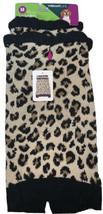 Dog Sweater Dress Leopard Animal Print Sz Medium Black Brown Beige Vibra... - $15.19