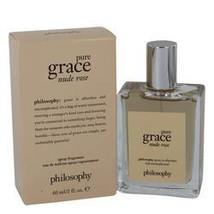 Amazing Grace Nude Rose Eau De Toilette Spray By Philosophy ,  2 oz  - $46.30