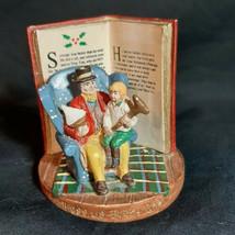 Russ Berrie A Christmas Carol Figurine 13980 God Bless Us Every One Scrooge Tim - $123.74
