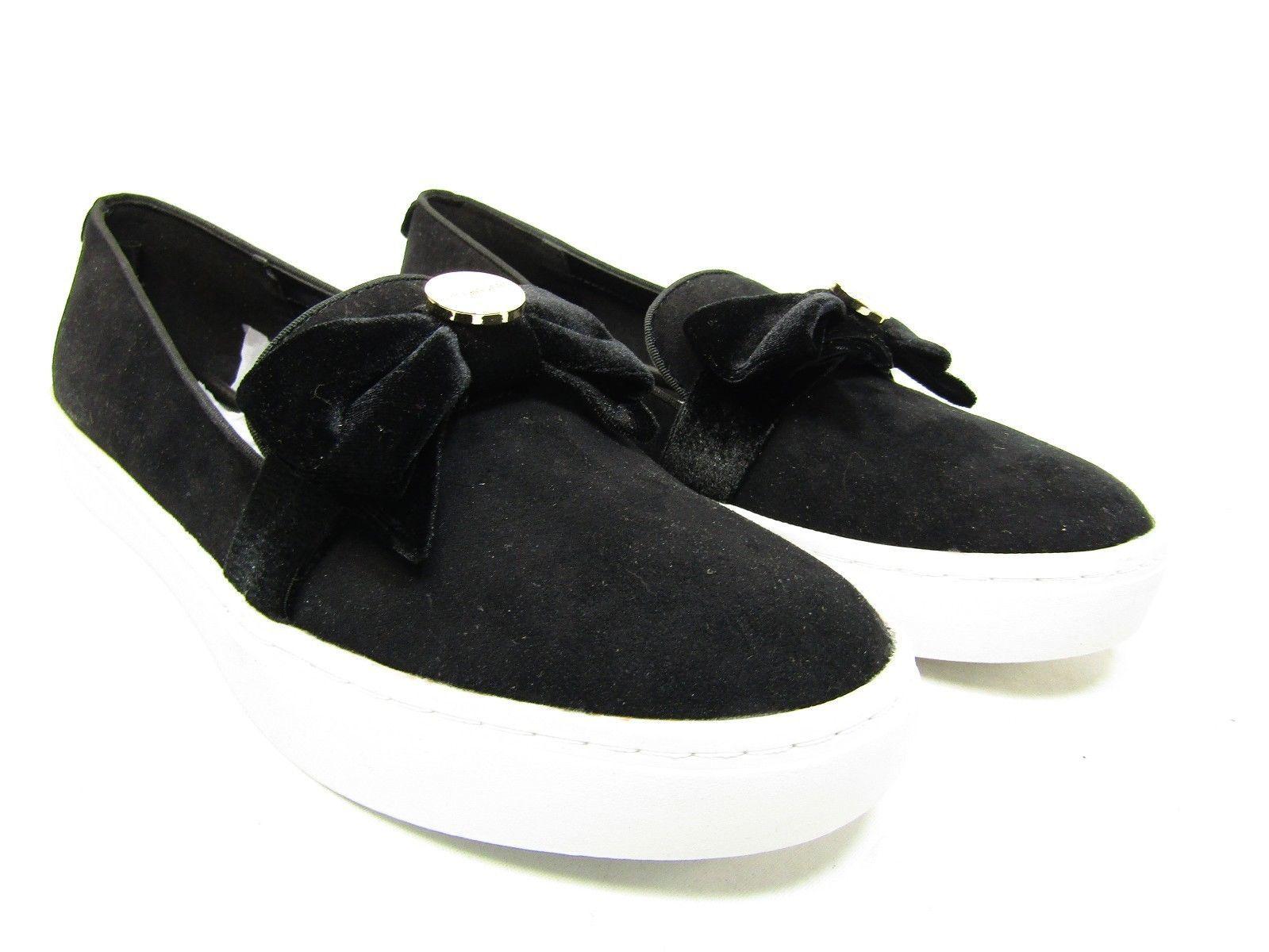 Liz Claiborne   WEAVER  Slip-On Suede Casual Loafer Black. Size 8.5 M