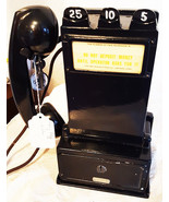 Original Gray Pay Station / Telephone w/ Handset Model 23D - $695.00