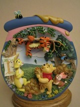 TIGGER'S TANGLE 3-D Collector Plate POOH'S HUNNYPOT ADVENTURES #6 WINNIE... - $44.95