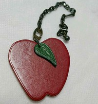 Hermes Apple Charm Keychain - $93.06