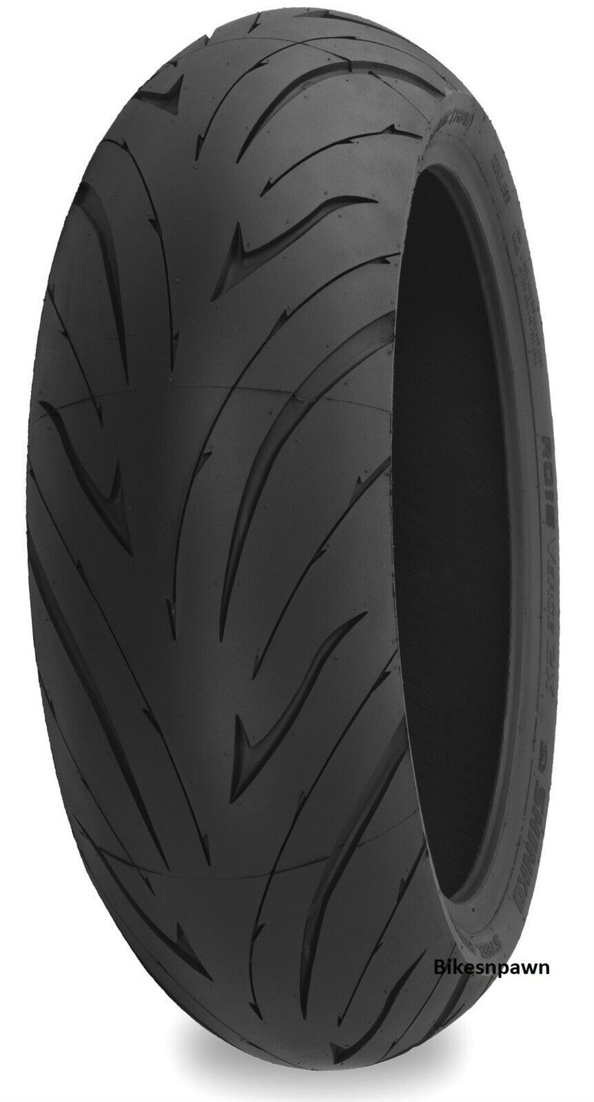 New 190/55ZR17 Shinko 016 Verge 2X Dual Compound Radial Rear Motorcycle Tire W75