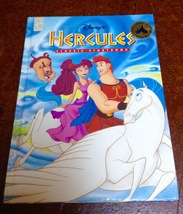 Disney's Hercules Book, Oversize Hardcover, Mouse Works 1997 Classic Sto... - $8.75