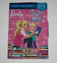 Step Into Reading Phonics Fun with Barbie 12 Books and Parent Guide - $9.99