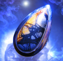 Haunted ring SECRET FAMOUS POWERFUL MALE DJINN Genie VESSEL 925 WEB Cassia4 - $187.00