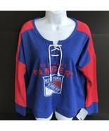 NHL New York Rangers Women's Sweatshirt Size Medium (8/10) - NEW With Ta... - $32.99