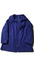 Calvin Klein Authentic Violet Water Resistant Logo Zipped Raincoat SIZE ... - $88.22