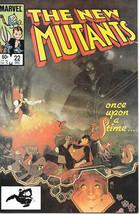 The New Mutants Comic Book #22 Marvel Comics 1984 NEAR MINT NEW UNREAD - $3.99