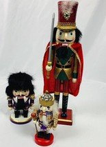 "Nutcracker Village Set of 3 Soldiers 4""-15"" - $16.21"