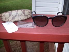 Authentic Coach Women's Sunglasses W/ Case Kylie Black Grey New In Case - $99.99