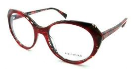 Alain Mikli Rx Eyeglasses Frames A03075 006 53-19-140 Rouge / Palmier Rouge - $103.41