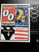 Sealed New 300 Piece Cardinal Jigsaw Puzzle Iconic Rolling Stone Anniver... - $13.42