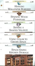 CREATIVE HOME DECORATING PAGES-PACKET 00;12 CARDS-1993-4;GREAT HOME DECO... - $4.97