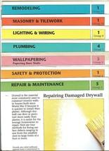 EASY HOME REPAIR-1991;14 CARDS:PLUMBING,LIGHTING.REMODELING,MASONRY,WALL... - $7.99